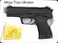 Пистолет Glock 17 глок, метал, пластик, стреляет пульками, фото 1