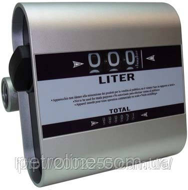 Лічильник витрат дизельного пального, масла Tech-Flow 3C, 20-120 л/хв