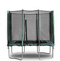 Прямоугольный батут с защитной сеткой KIDIGO 215х150 см