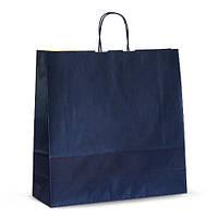 Крафт-пакет  Volley 44х14х42,5 синий с витыми ручками