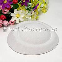 Основа для шляпки-таблетки 13 см, белая