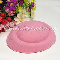Основа для шляпки-таблетки 13 см, св.розовый