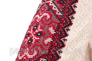 Вышиванка Влада красная вертикальная | Вишиванка Влада червона вертикальна, фото 3