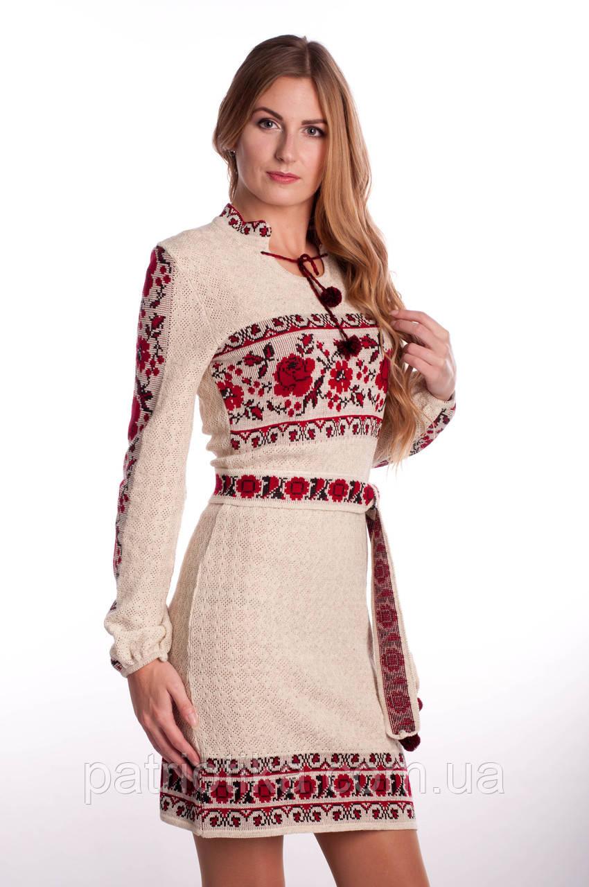 Платье женское Розы с бутоном | Плаття жіноче Троянди з бутоном