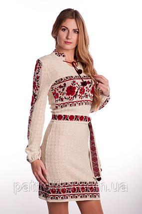 Платье женское Розы с бутоном | Плаття жіноче Троянди з бутоном, фото 2