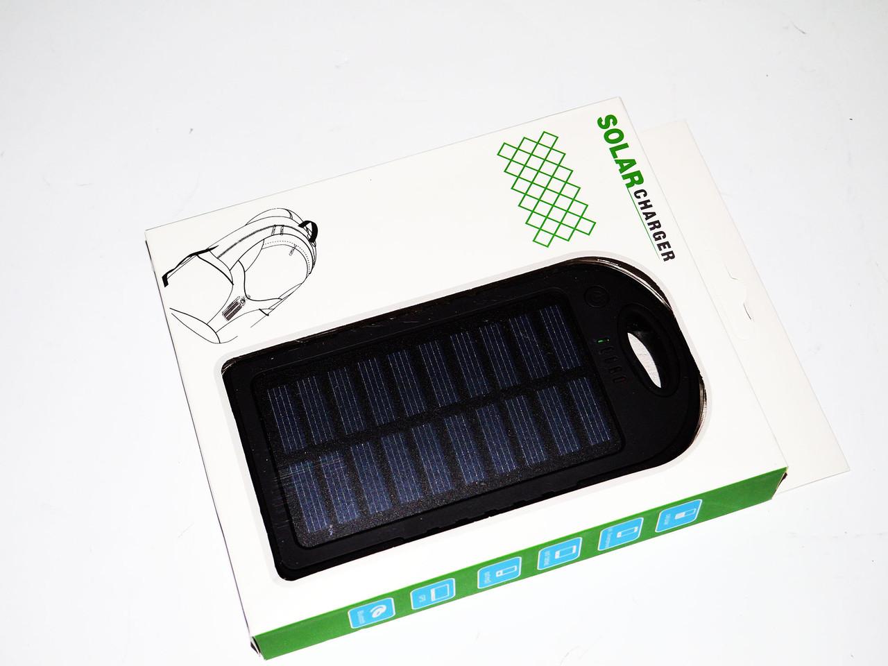 Сонячне зарядний пристрій Power Bank 12000mAh