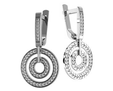 Сережки срібні Ореон 403 32