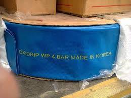 """Шланг LayFLat гибкий Oxi Drip 4"""", диаметр 100 мм, 4 Атм, длина 100 м"""
