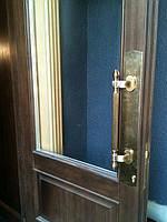 Накладка на дверь входную, бронза