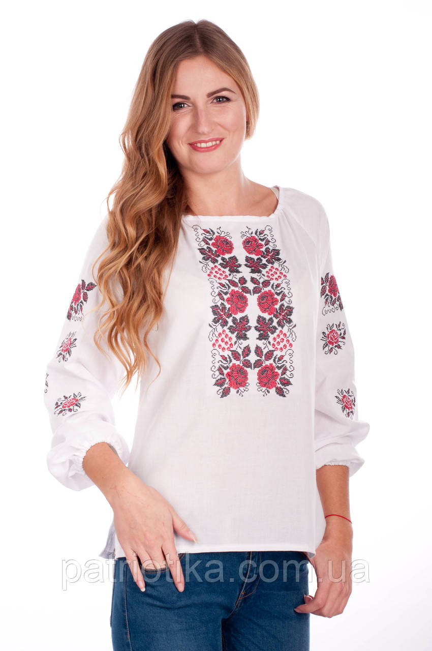Вышитая женская сорочка | Вишита жіноча сорочка