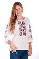 Вышитая женская сорочка | Вишита жіноча сорочка, фото 1