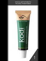 Краска для бровей и ресниц графитовая Kodi  (15 ml)