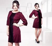 Платье с кружевом Ирина