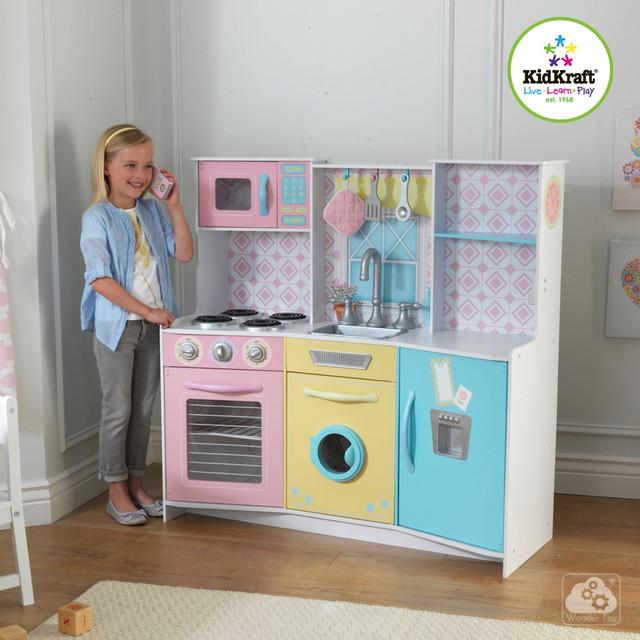 Детские деревянные кухни KidKraft