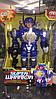 Супер герой робот трансформер синий звуковой