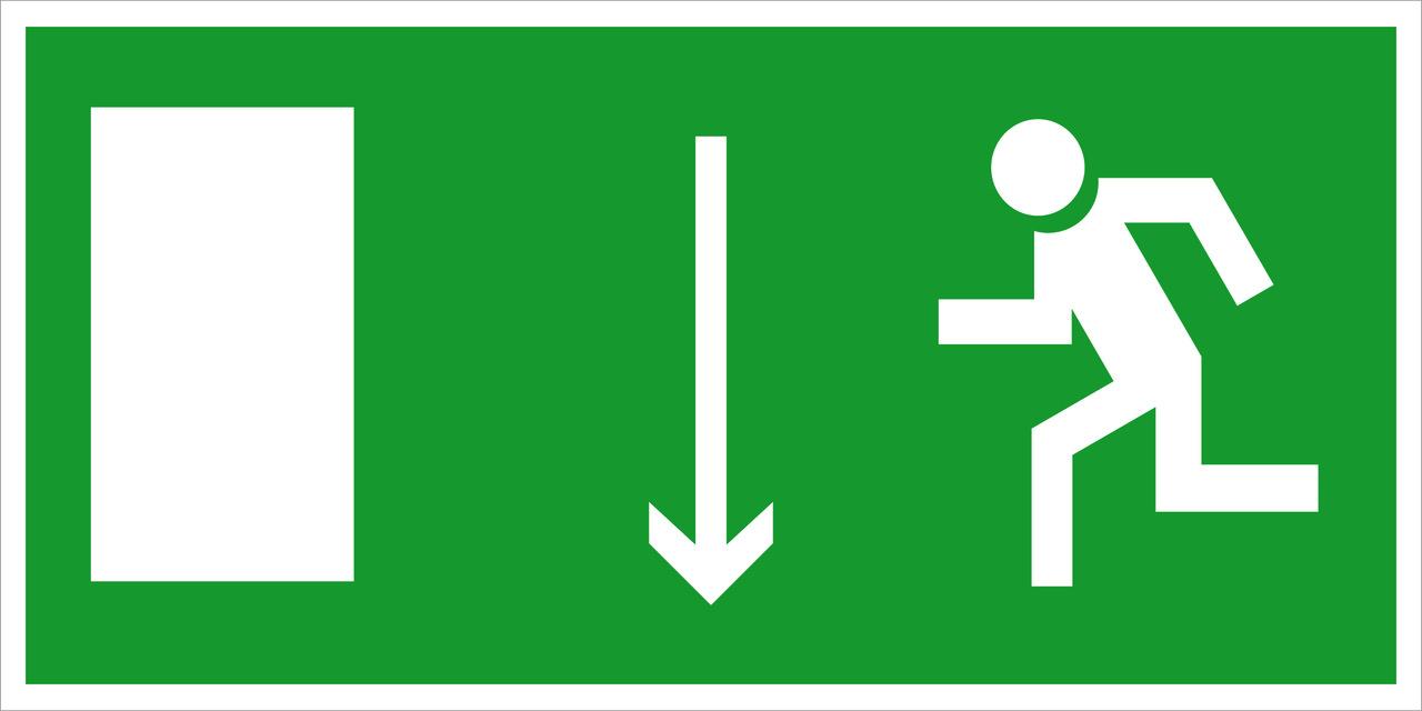 Указатель двери эвакуационного выхода (правосторонний, левосторонний), фото 1