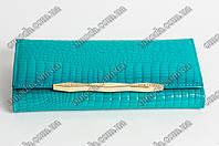 Яркий кожанный кошелек Balisa C826-E542 бирюзового цвета