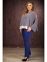 Женская красивая блузка большого размера (р. 48-72) арт. Прованс
