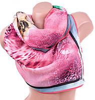 Красивый женский хлопковый шарф 180 на 75 см.  ETERNO (ЭТЭРНО) ES1405-3-8