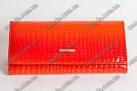 Женский кожанный кошелек Balisa оранжевого цвета