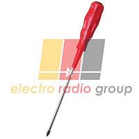 Викрутка крестова Pro'sKit 89414В, РН2, 200 mm