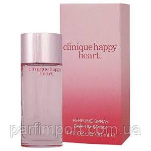 Clinique Happy Нeart EDP 30 ml Парфумована вода (оригінал оригінал Швейцарія)