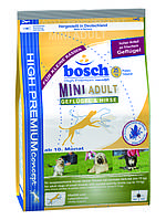 Корм для собак BOSCH HPC Мини Эдалт(птица+просо) 1 кг