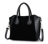 Практическая женская сумка с ручками. Стильная сумка. Низкая цена. Купить сумку в интернет-магазине.Код:КД80-1