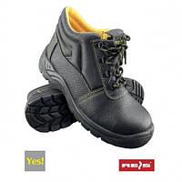 Ботинки рабочие кожанные с металлическим носком BRYES-T-SB
