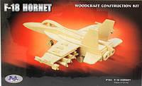 3D пазлы самолета F18-Hornet
