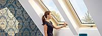Мансардне вікно VELUX OPTIMA Комфорт GLR 3073B SR 06 дерев'яне 114х140 см