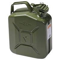 Металлическая канистра FORTE для ГСМ на 5 литров