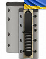 Буферная емкость (Бак аккумулятор) 2000 л. (B1) с одним теплообм., ткан. обшив., H-BUFF Harwood