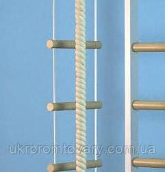 Веревочная лестница для детей стандарт 10 ступеней - 2,5 мп, фото 2