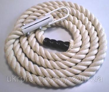 Канат для лазанья х/б, д 40 мм., длина 5,5 м, фото 2