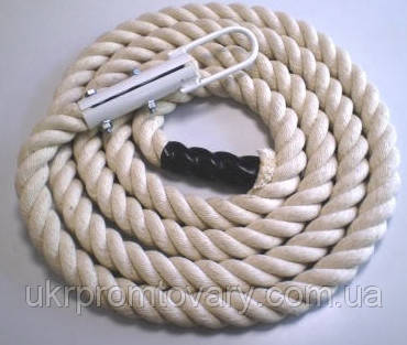 Канат для лазанья х/б, д 30 мм., длина 3 м, фото 2