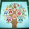 Салфетка для декупажа Совы на дереве  33*33 см, 1 шт