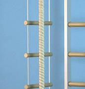Веревочная лестница для детей стандарт 8 ступеней - 2 мп