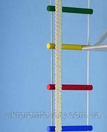 Веревочная лестница для детей 8 ступеней - 2 мп 4 цвета, фото 2