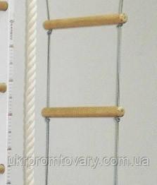 Веревочная лестница для детей эконом 7 ступеней - 2 мп, фото 2