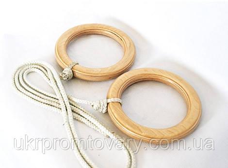 Гимнастические кольца для детей Эконом, фото 2