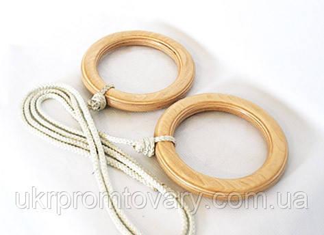 Гимнастические кольца для детей Стандарт Лак, фото 2