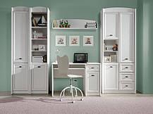 Шкаф комбинированный REG3D3S Салерно Белый (Гербор ТМ), фото 3
