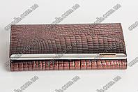 Кожанный женский кошелек Balisa коричневого цвета