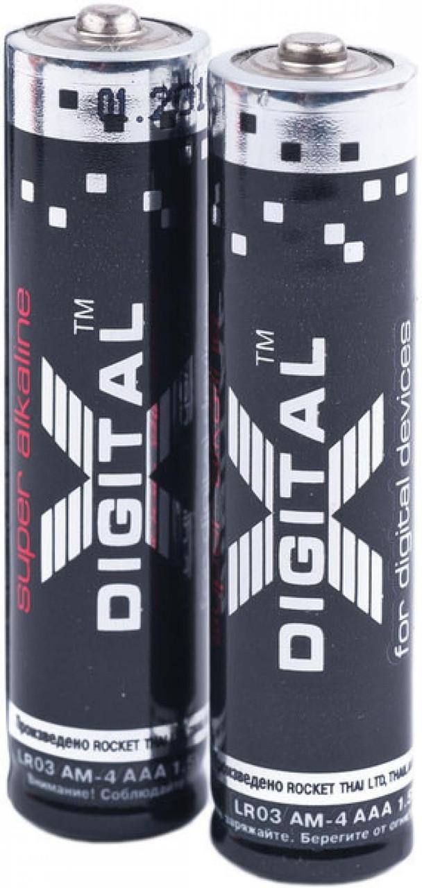 Батарейка X-DIGITAL LR03 Pack