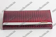 Лаковый женский кошелек Balisa вишневого цвета