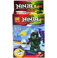 Конструктор LELE Ninja Призраки Lloyd Evil Green Soul Archer, 79181-6 KK
