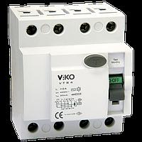 Viko Tech Устройство защитного отключения, 4P, 25A, 300mA