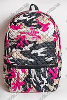 Рюкзак женский Chanel малина PNR3