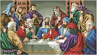 Рисунок на канве для вышивки нитками мулине 50913 Молитва